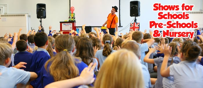 Magic 4 Children provides quality entertainers for schools