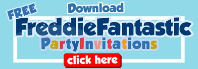 Freddie Fantastic Party Invites