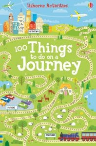 Children's birthday present ideas: 100 Things to Do on a Journey from Usborne Activities