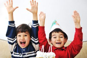 Do joint birthday parties for kids work