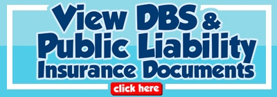 View DBS and Public Liability Insurance