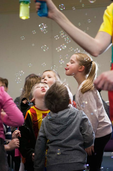 Childrens party entertainment in stockport