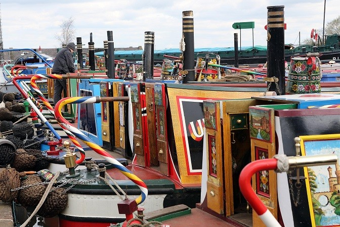 Things to do in Easter around Cheshire: Easter Boat Gathering at the National Waterways Museum Ellesmere Port