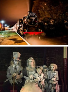October Half Term Ideas Halloween Ghost Train