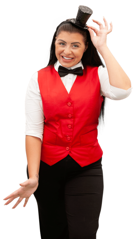 Magic Maggie is a female childrens entertainer working at childrens birthday parties in Manchester