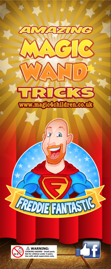 With these Magic Wand Trick Kits from Magic 4 Children you won't need to worry about making up Party Bags, we'll do it for you!