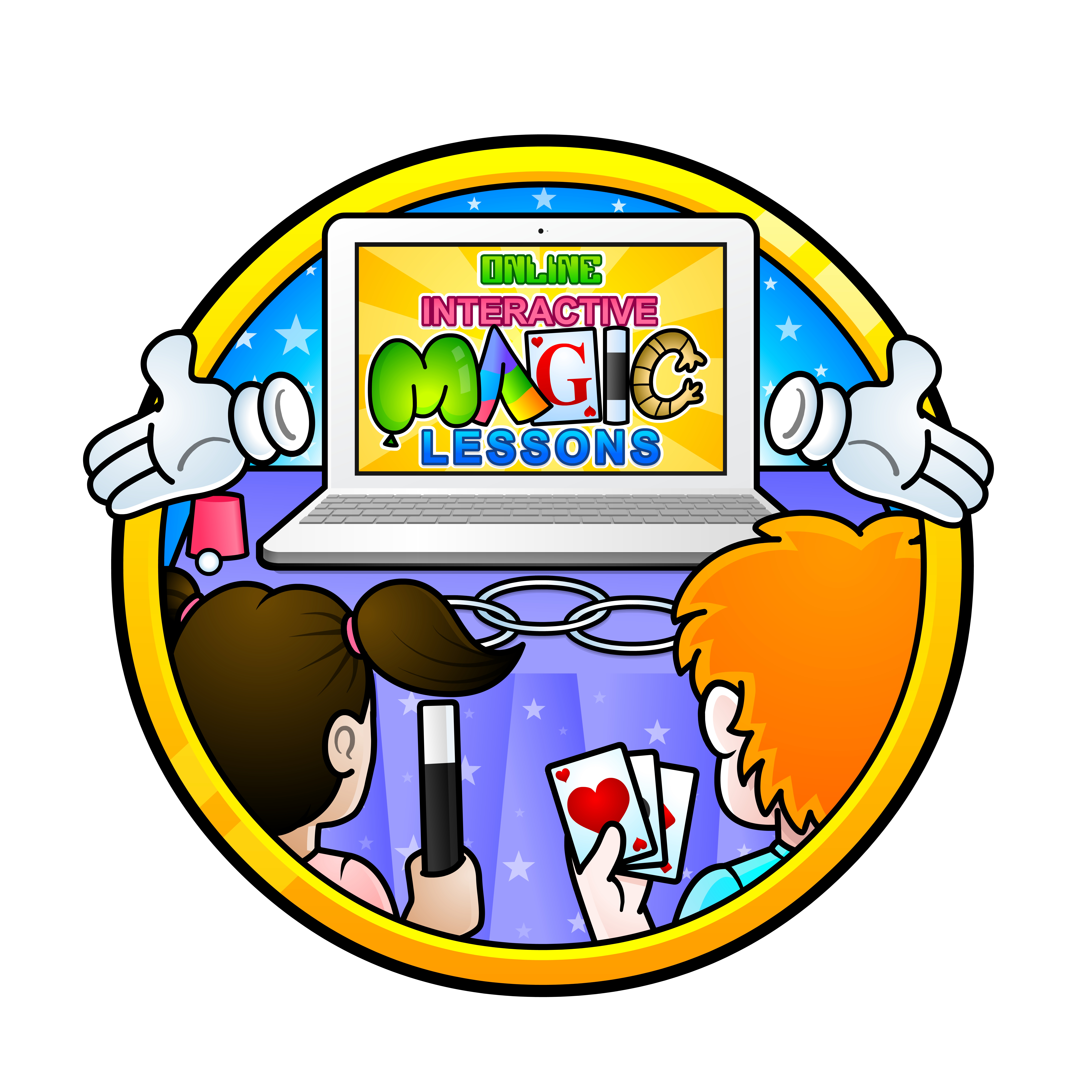 Online Interactive Magic Lessons for kids, the perfect treat for a Birthday or just for any child aged between 8-12 years old looking for something fun to do