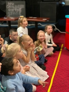 Children enjoy Magic Maggie