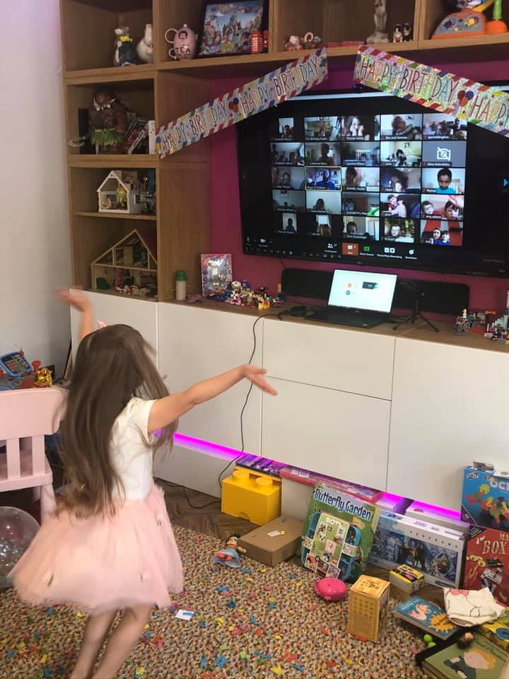 Virtual Online Birthday Party for 5 year old