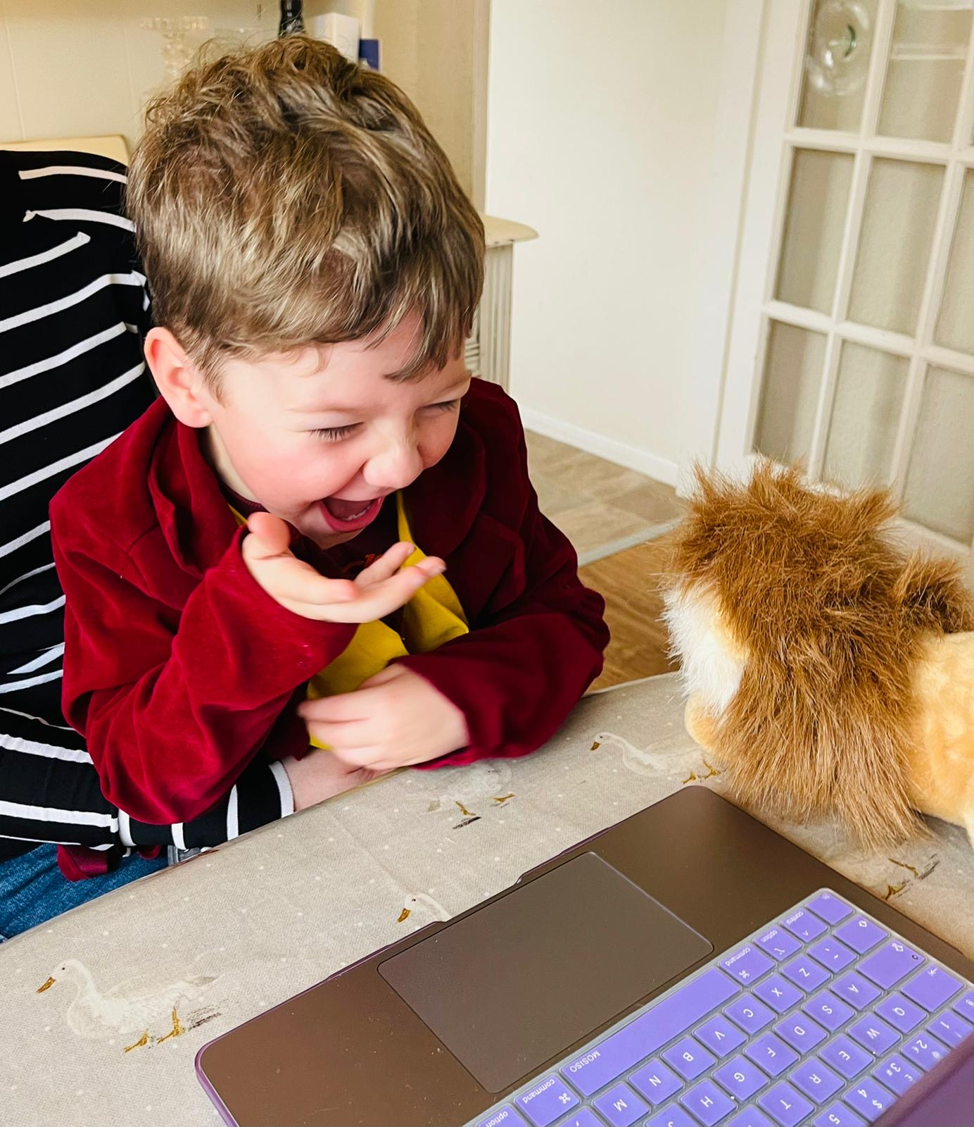 Online Entertainment for 5 year old