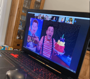 Online Birthday Entertainer for 5 year old